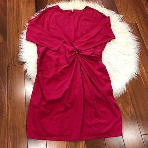 New!🌿Twist Front Bodycan Dress 3XL